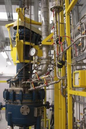 Réacteur distillation